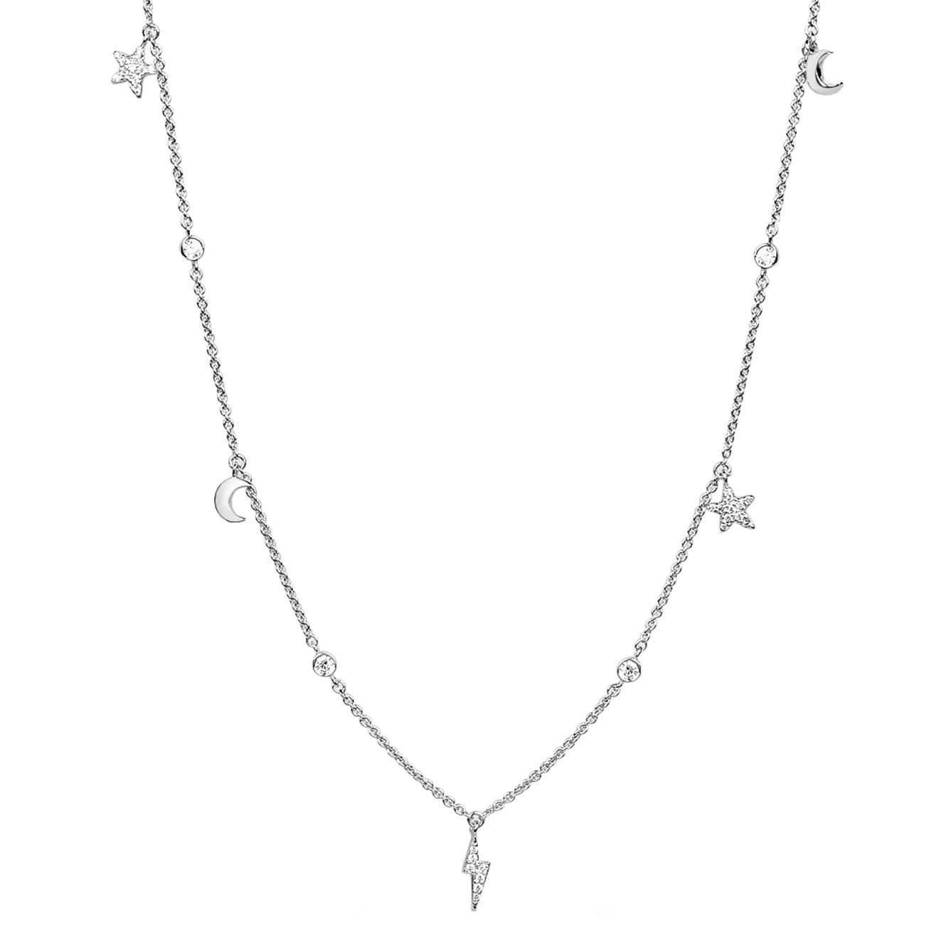 LAVZ Серебряное колье Universe Necklace, из коллекции