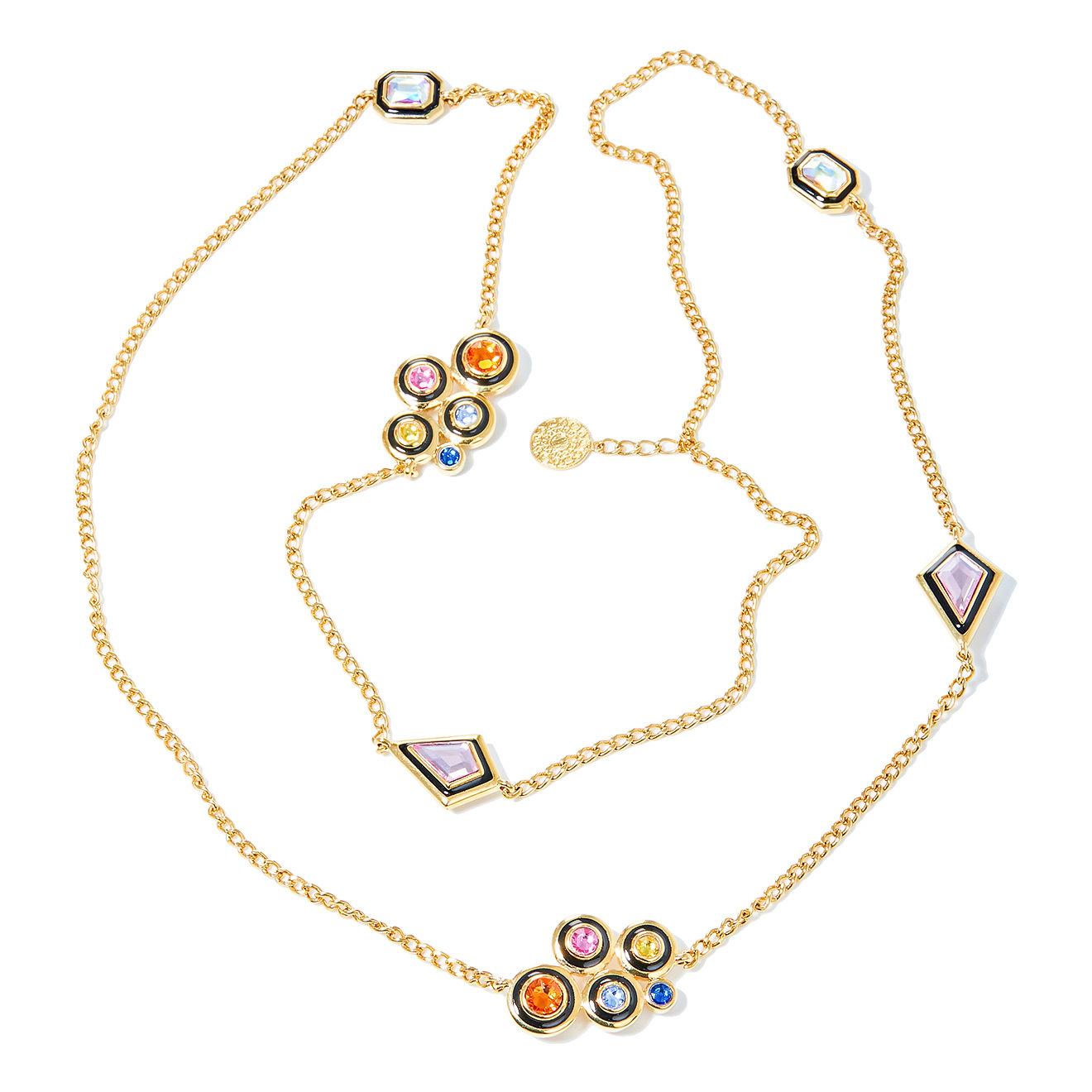 Isharya Позолоченный сотуар с кристаллами