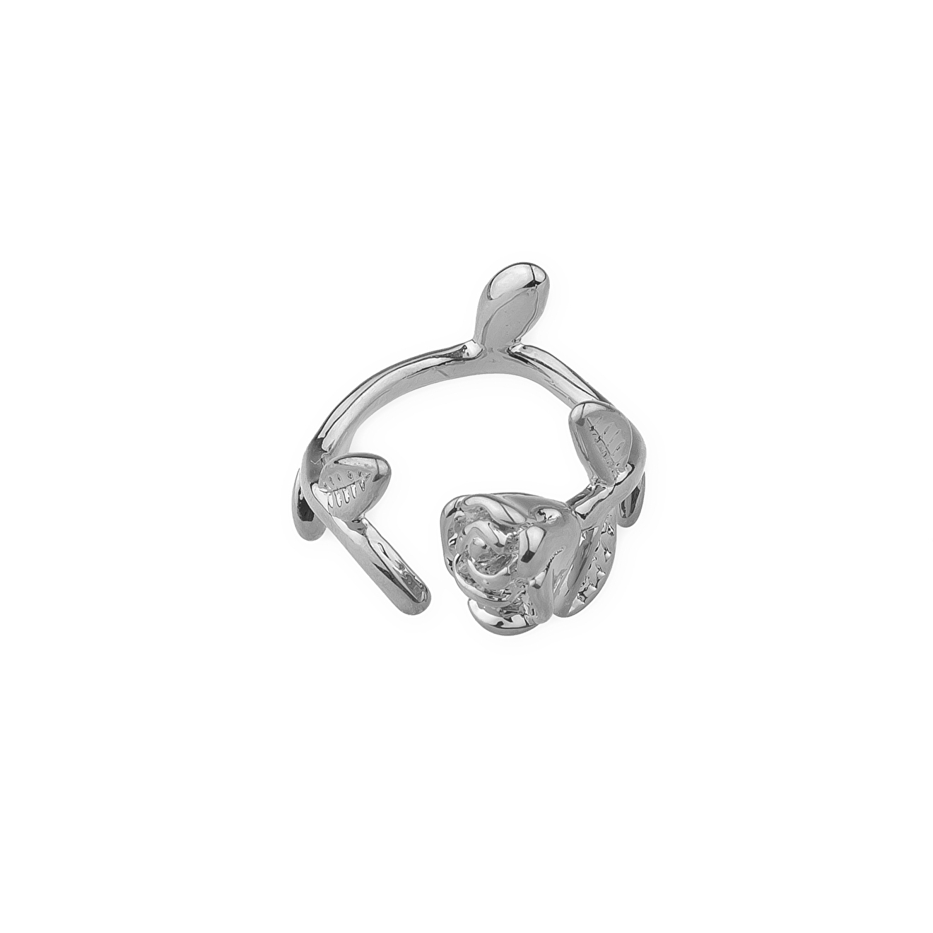 Herald Percy Серебристое кольцо-цветок