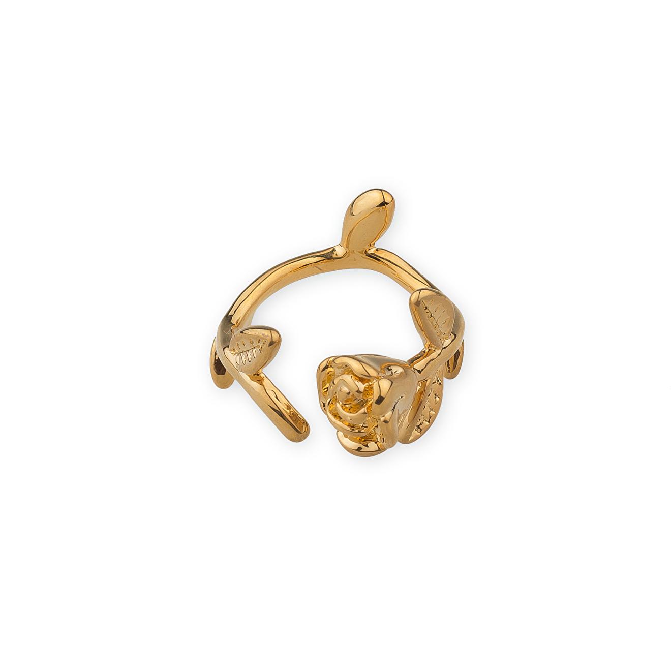 Herald Percy Золотистое кольцо-цветок
