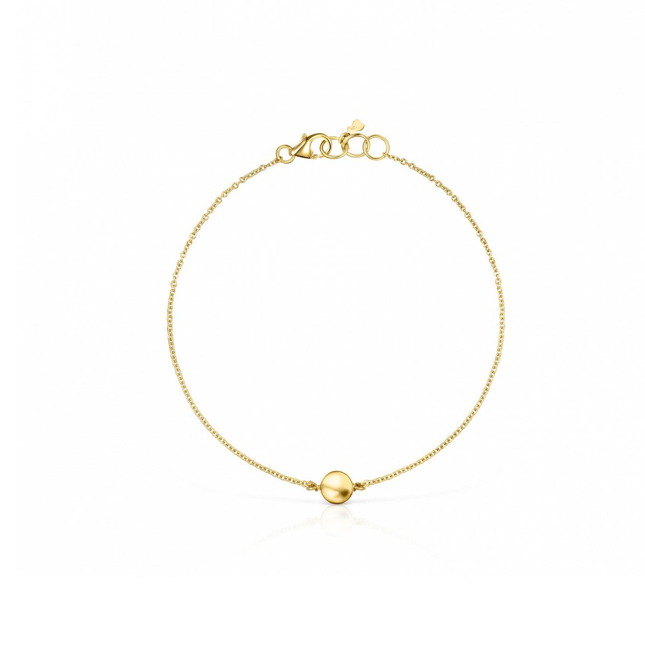tous браслет glory из золота с перламутром tous TOUS Браслет Alecia из желтого золота