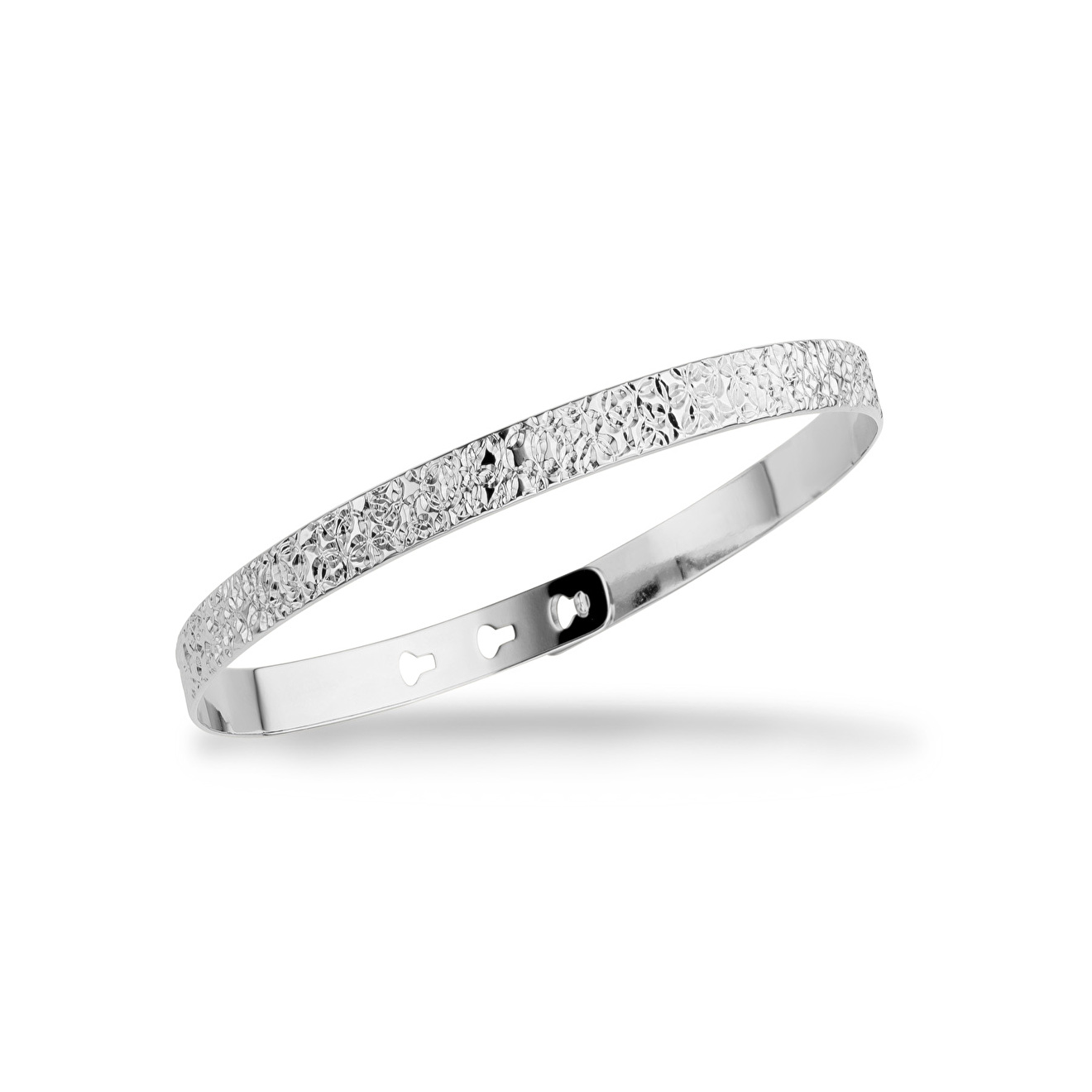 Mya Bay Покрытый серебром браслет Stitched