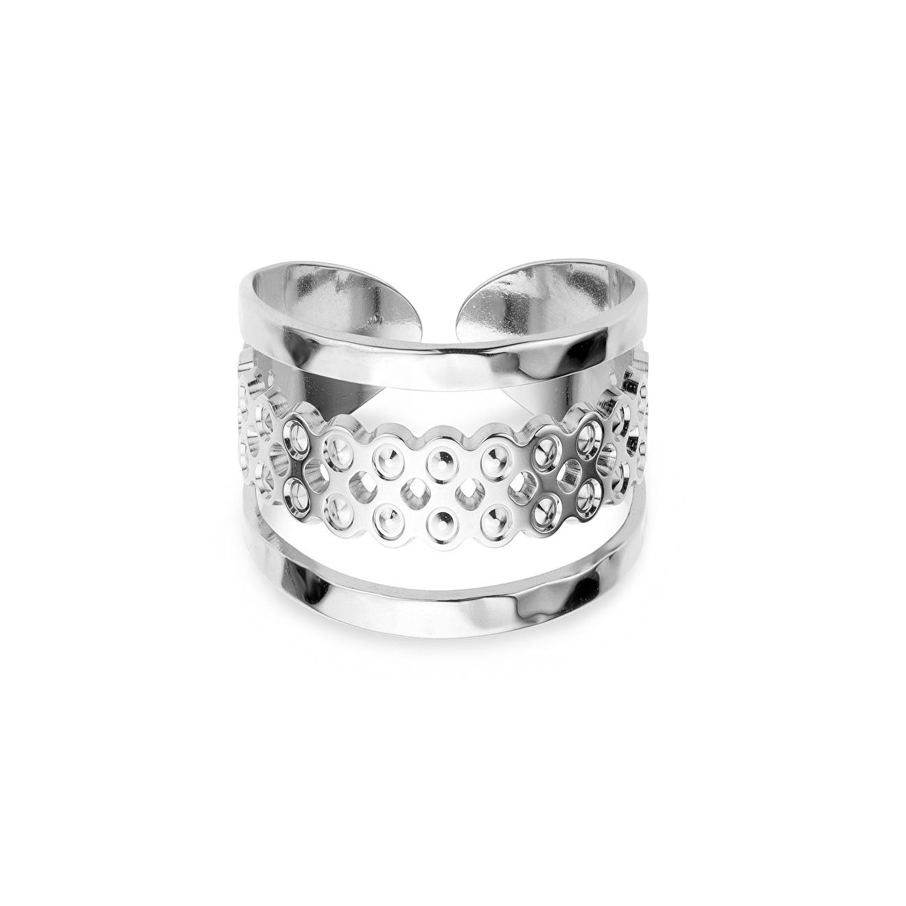 Mya Bay Покрытое серебром кольцо Manhattan