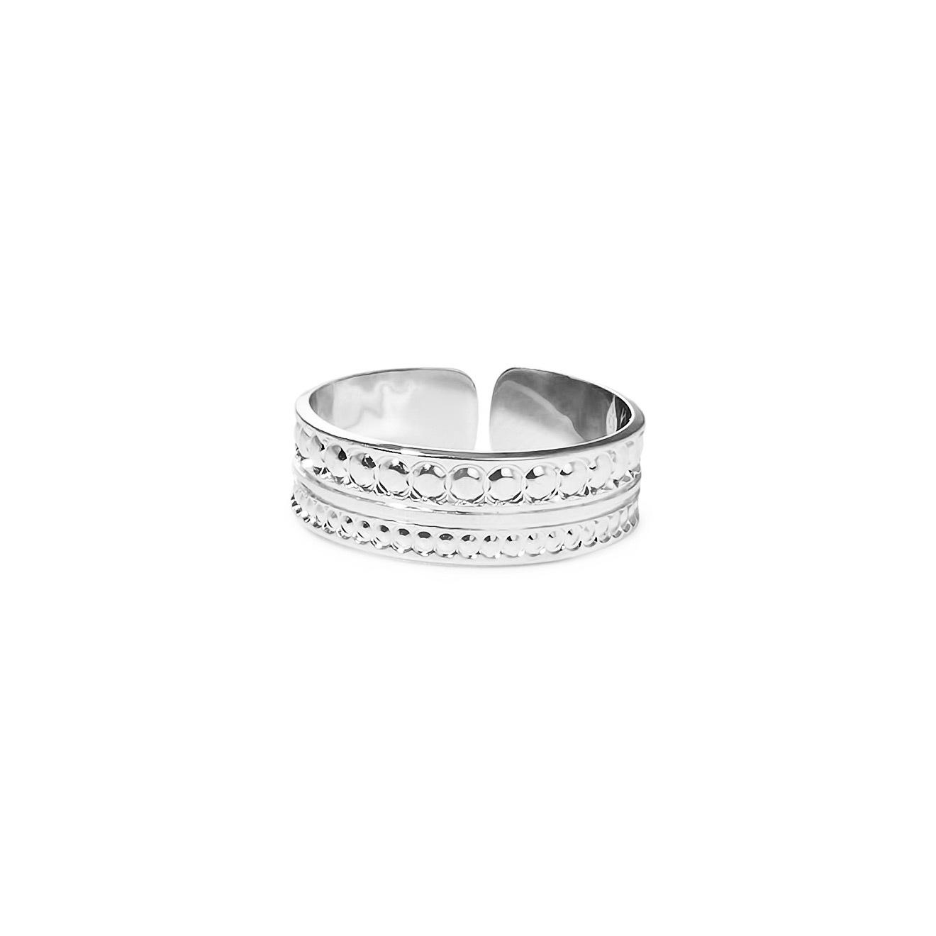 Mya Bay Покрытое серебром кольцо Little Maharaja