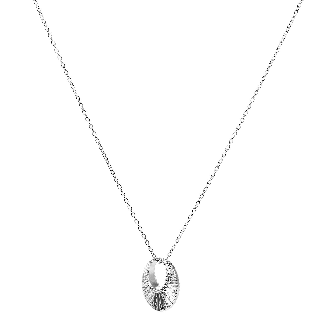 Mya Bay Покрытое серебром колье Celeste