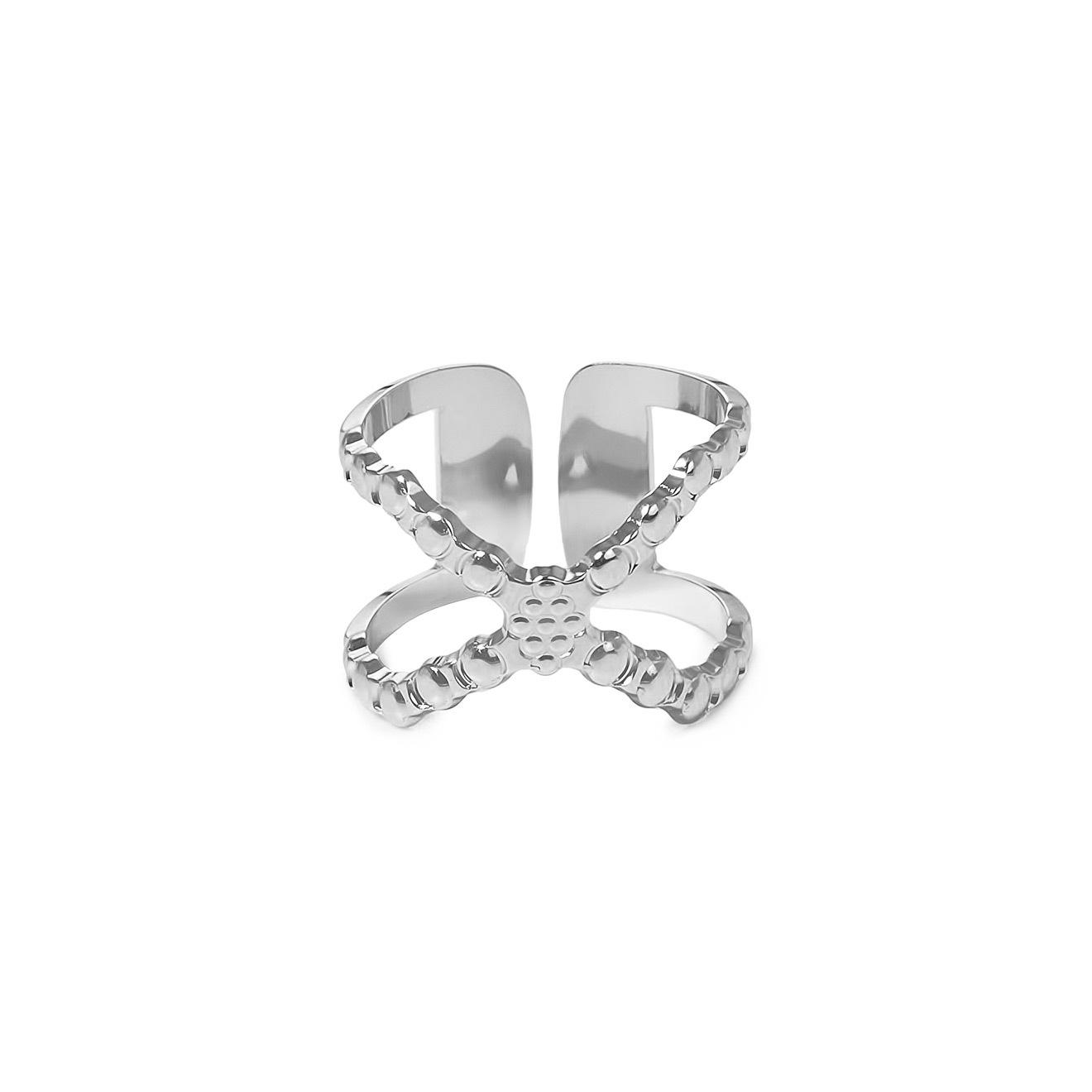 Mya Bay Покрытое серебром кольцо «Connexion»