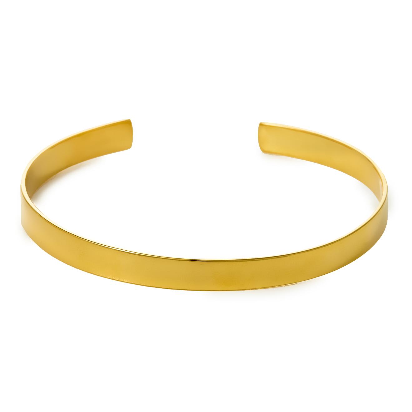Wanna?Be! Позолоченный браслет Bangle
