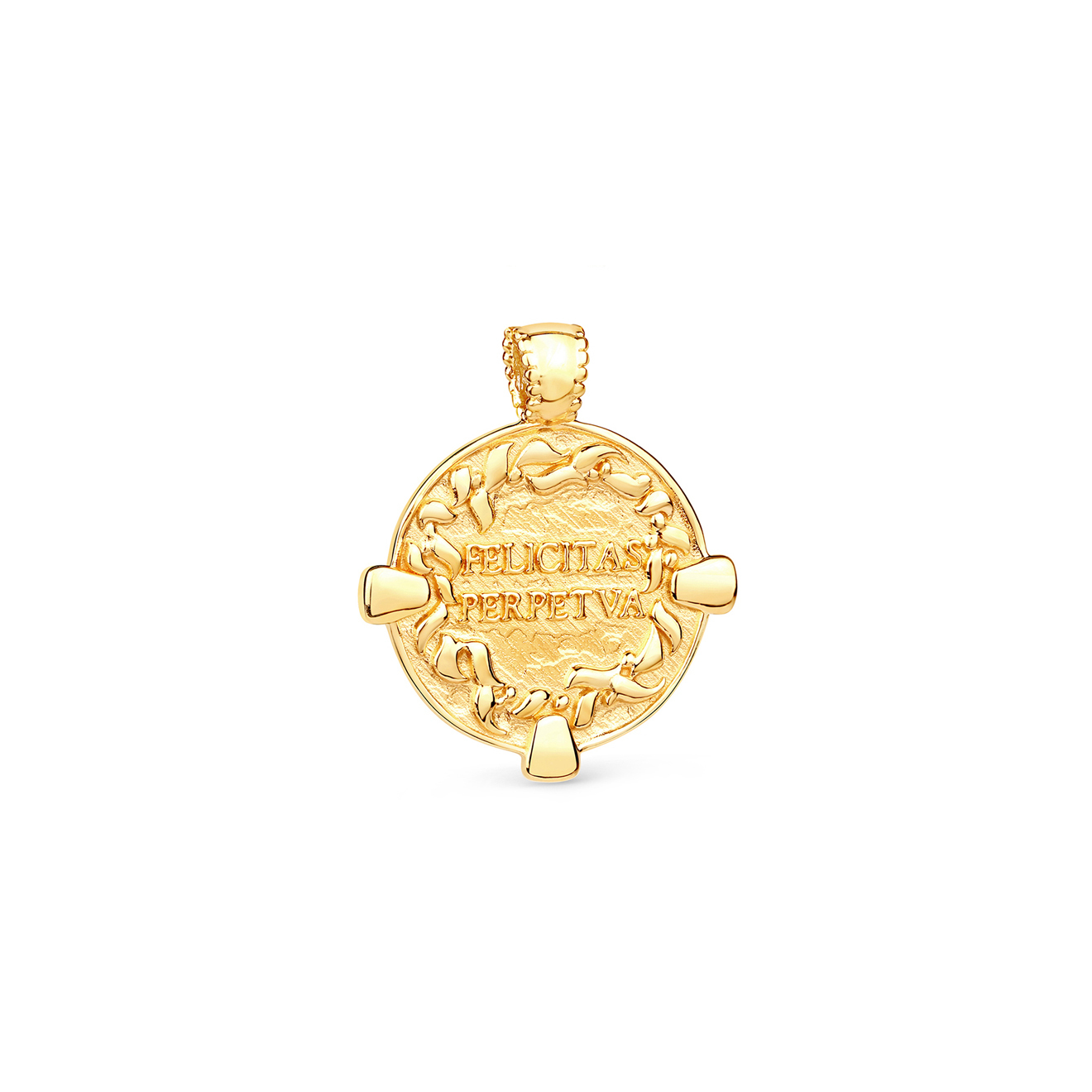LAVZ Позолоченный медальон Coin, из коллекции Antique