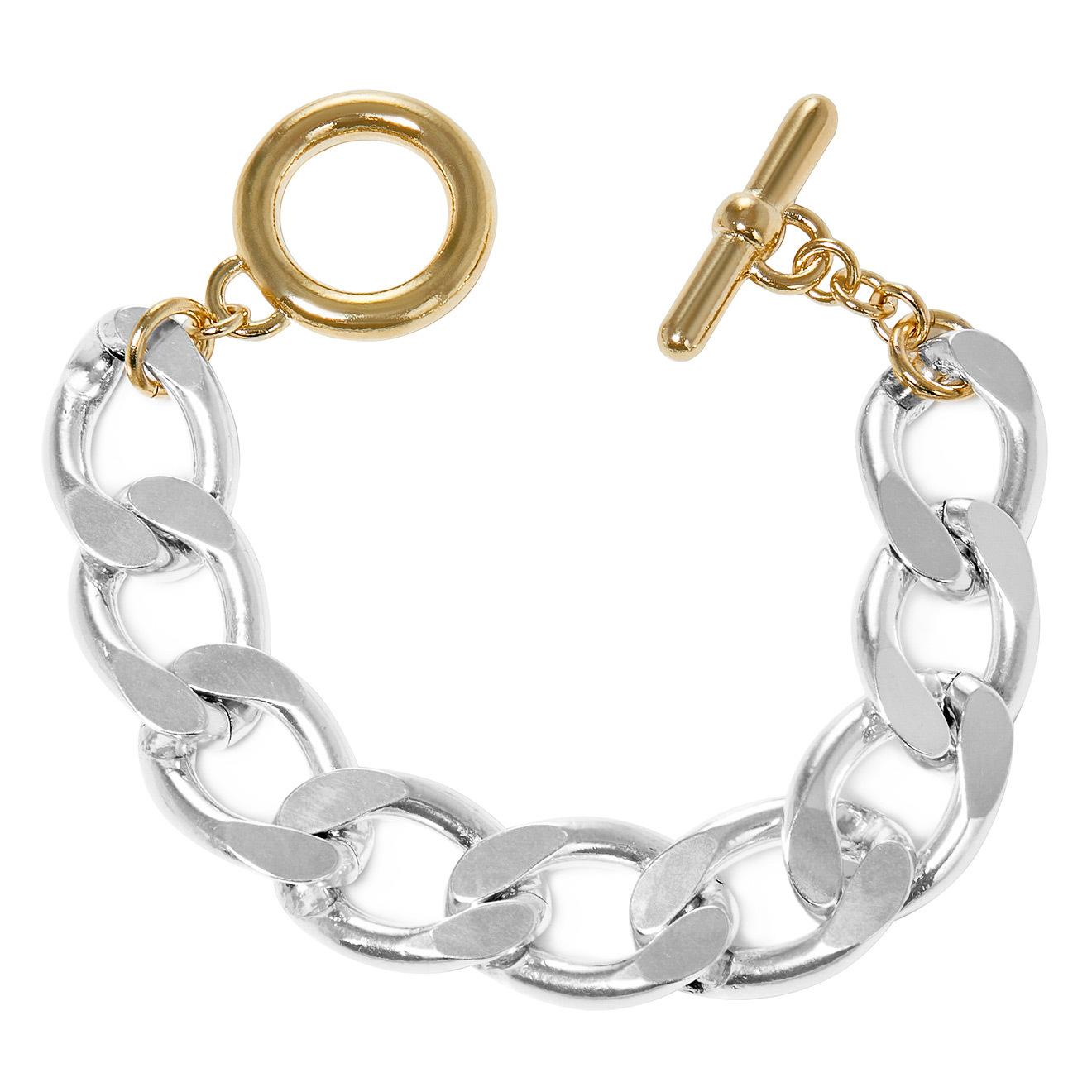 Philippe Audibert Биколорный браслет-цепь Asbury philippe audibert биколорный браслет ginger