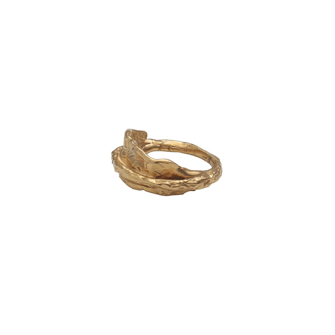Ringstone Позолоченное кольцо на мизинец