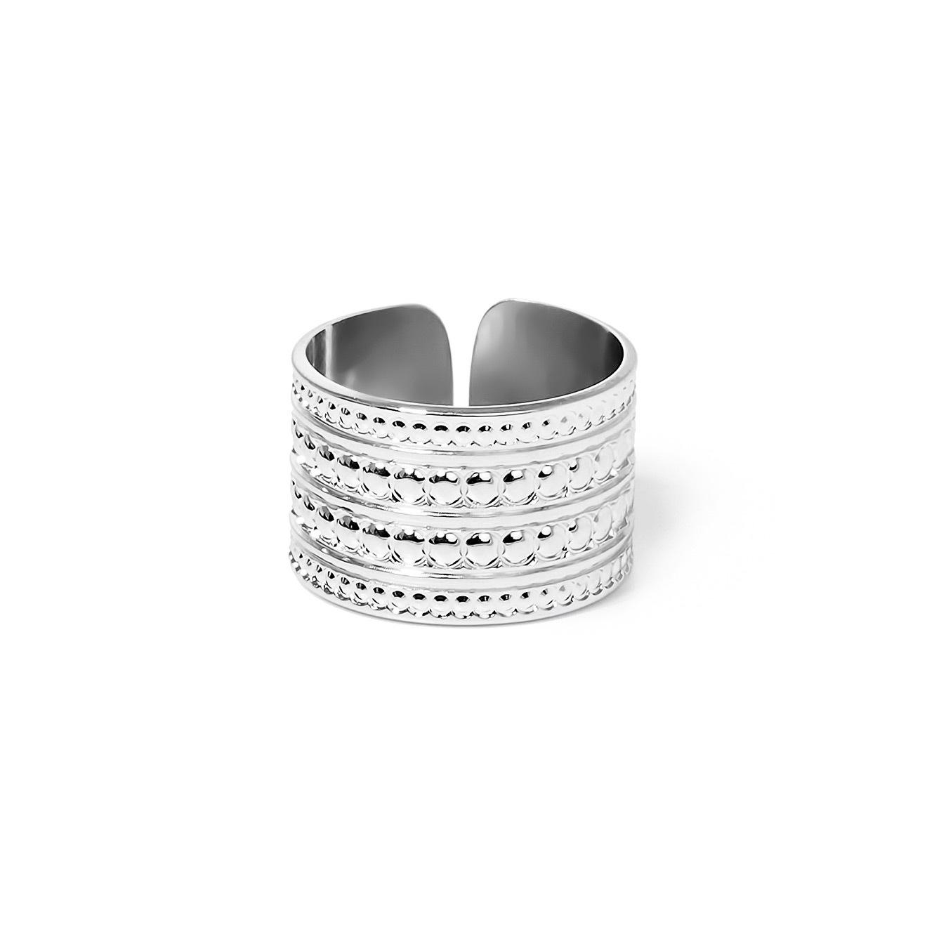 Mya Bay Покрытое серебром кольцо Maharaja