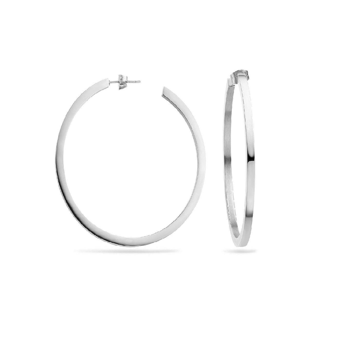 Mya Bay Покрытые серебром серьги-кольца Dona