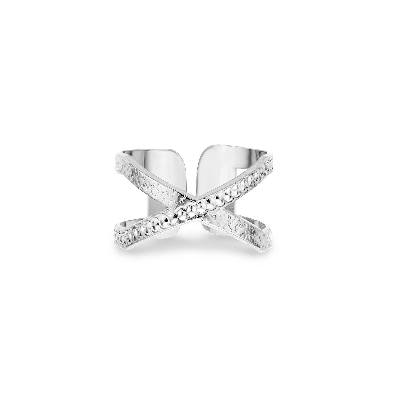 Mya Bay Покрытое серебром кольцо Soho-Perlée