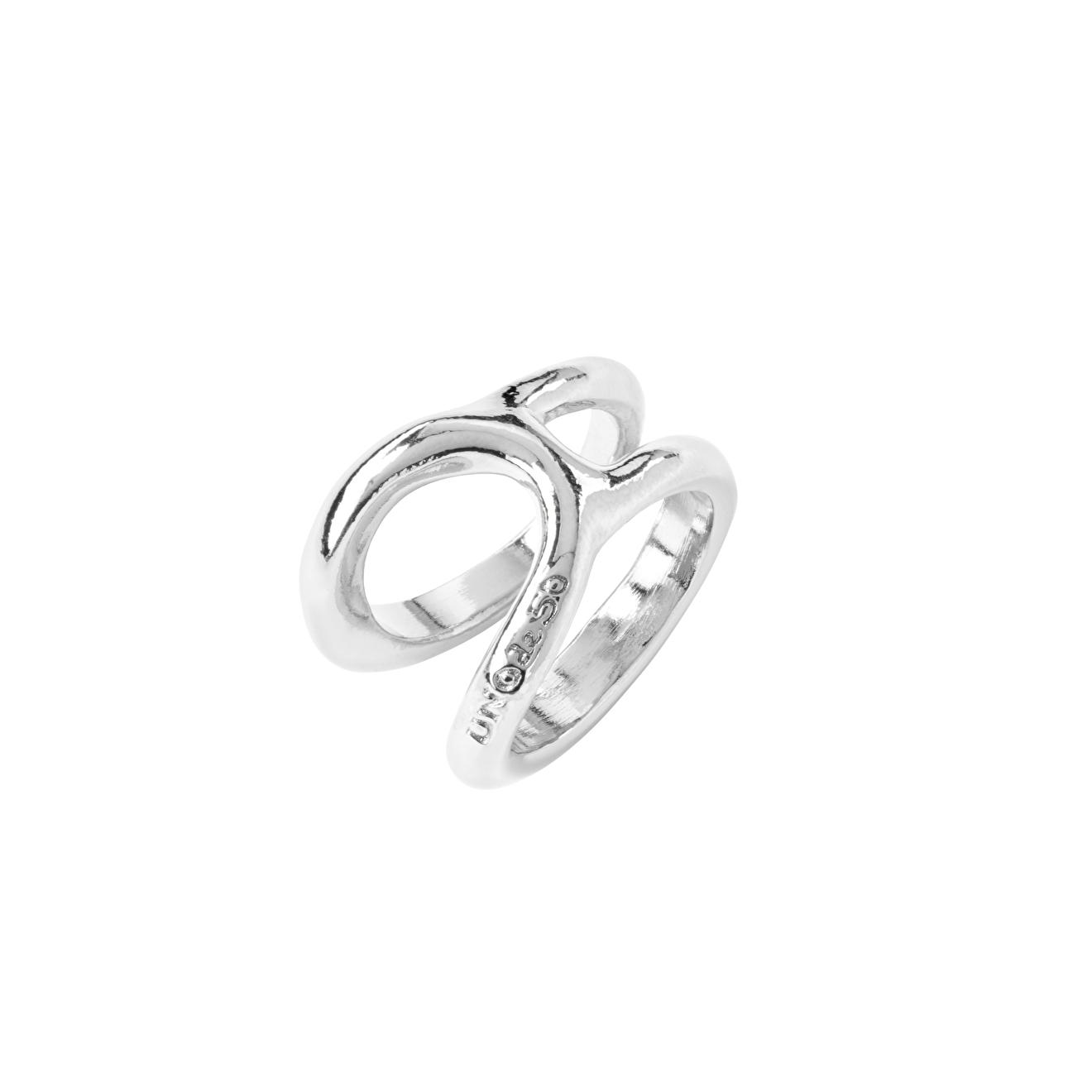 Unode50 Покрытое серебром кольцо Shortcut, из коллекции China