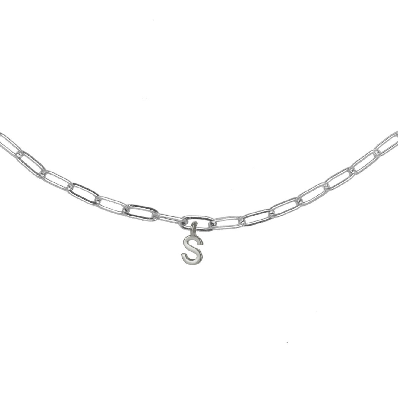 Фото - Ringstone Колье-цепь с буквой S ringstone жемчужное ожерелье с буквой s ringstone