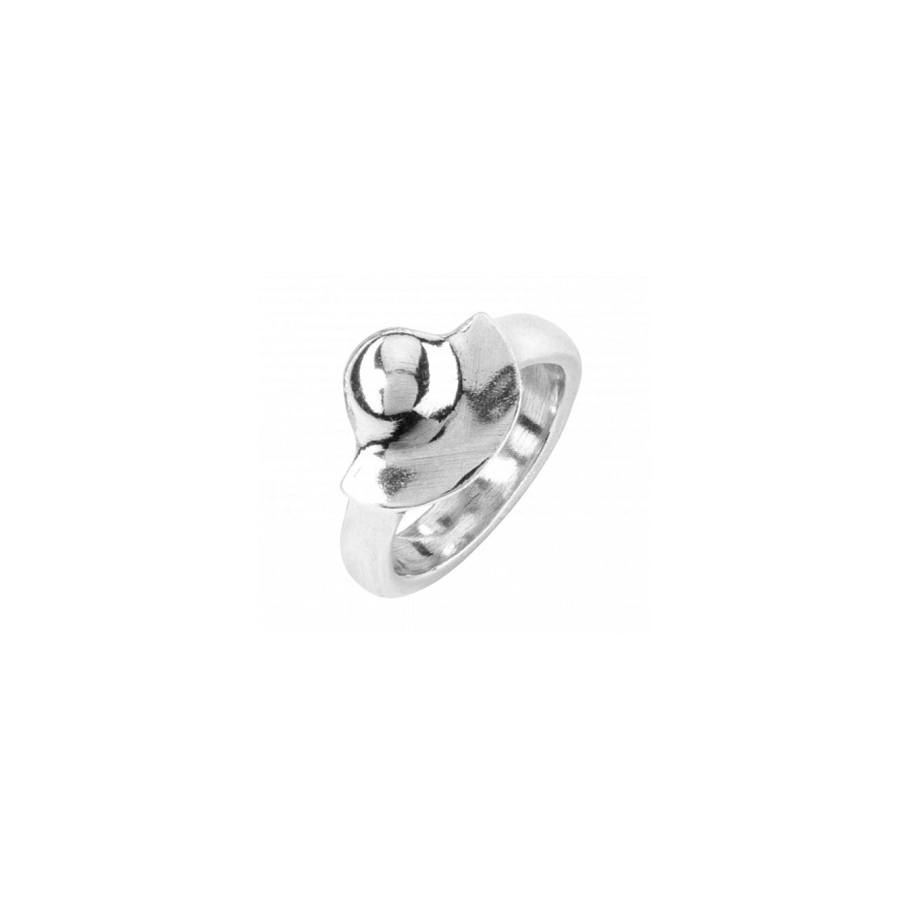Unode50 Серебристое кольцо Mrs Uma 2, из коллекции India недорого