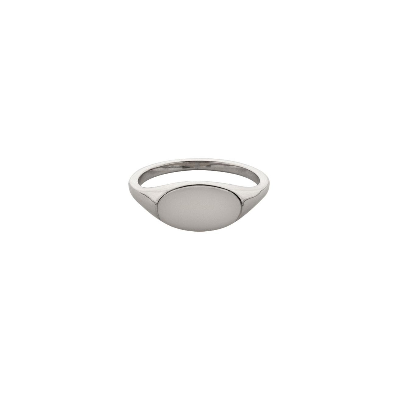 Ringstone Кольцо-печатка Blank из серебра