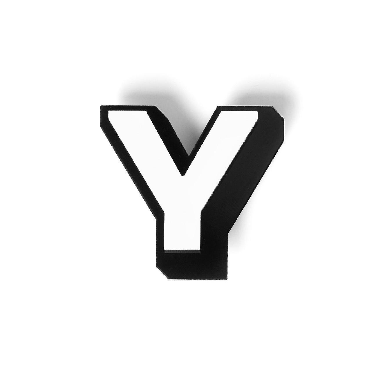 Monolama Брошь Letter Y