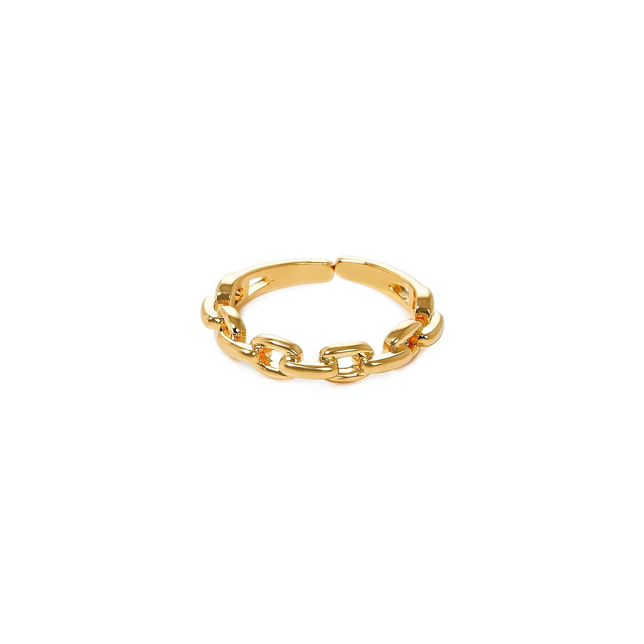 Lisa Smith Золотистое кольцо-цепь