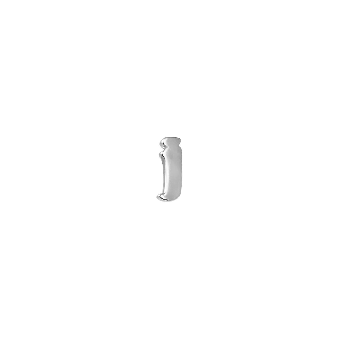 Tilda Пусета из белого золота с буквой J 36 colors set fluffy slime toys polymer clay putty soft clay antistress light plasticine slime supplies sand fidget gum for kids