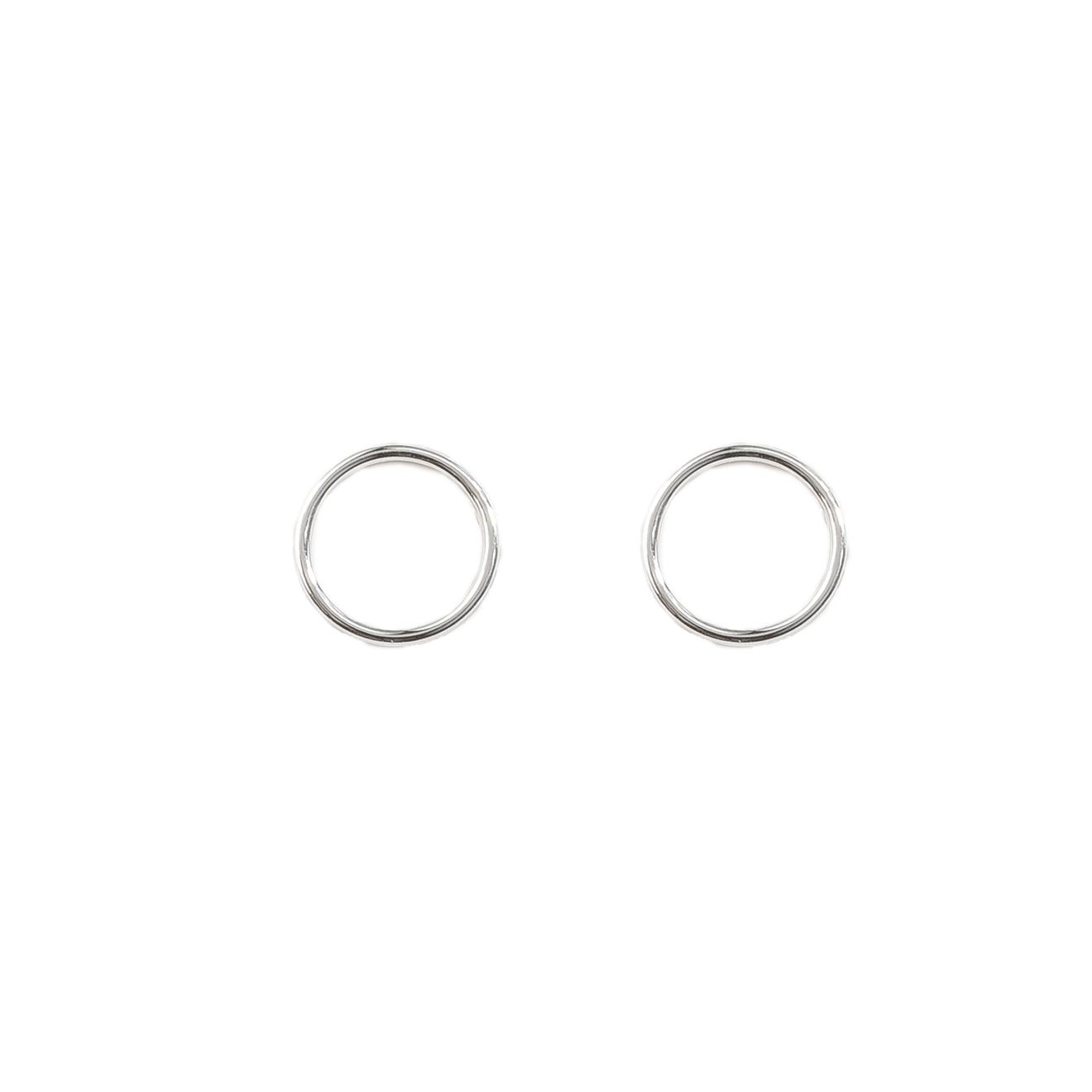 Tilda Серьги-круги из серебра