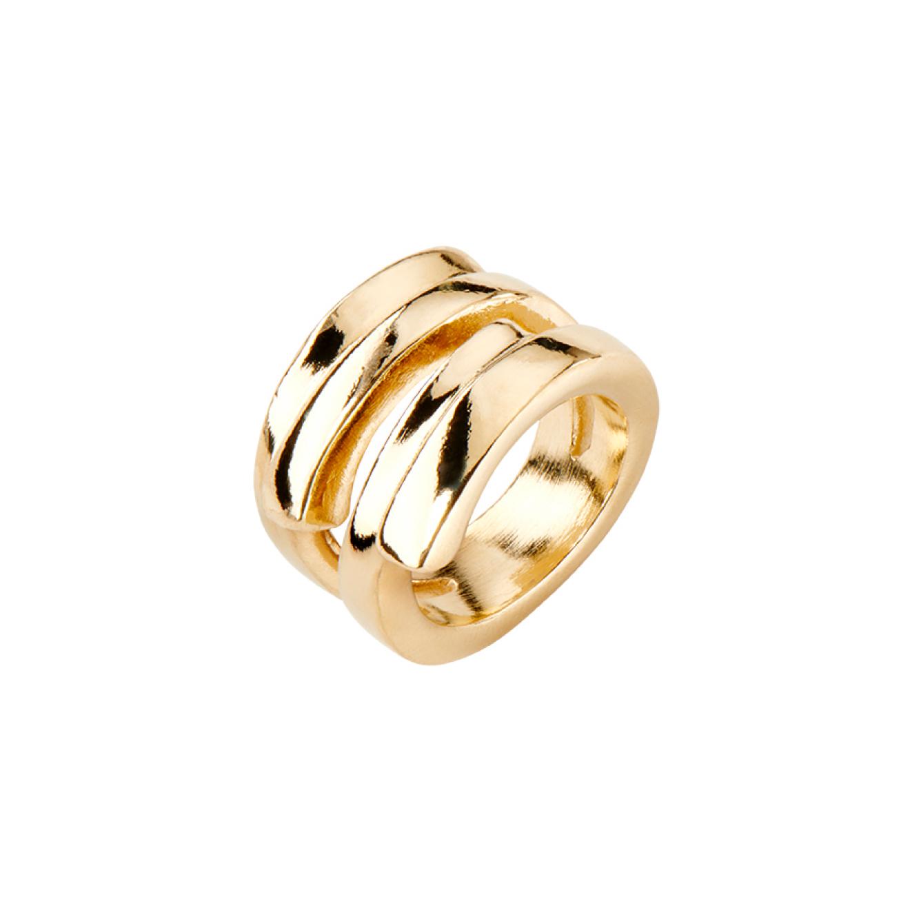 Unode50 Позолоченное кольцо Maratua island, из коллекции Indonesia недорого
