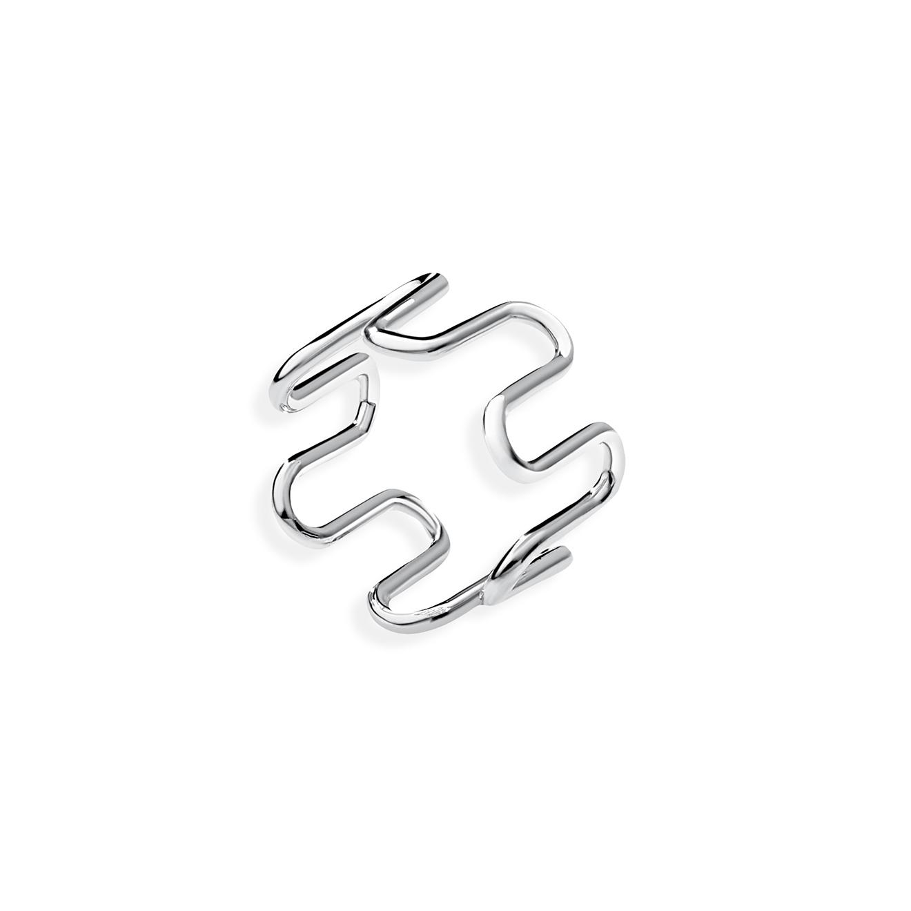Alvaar Серебристое кольцо Sin/Cos High
