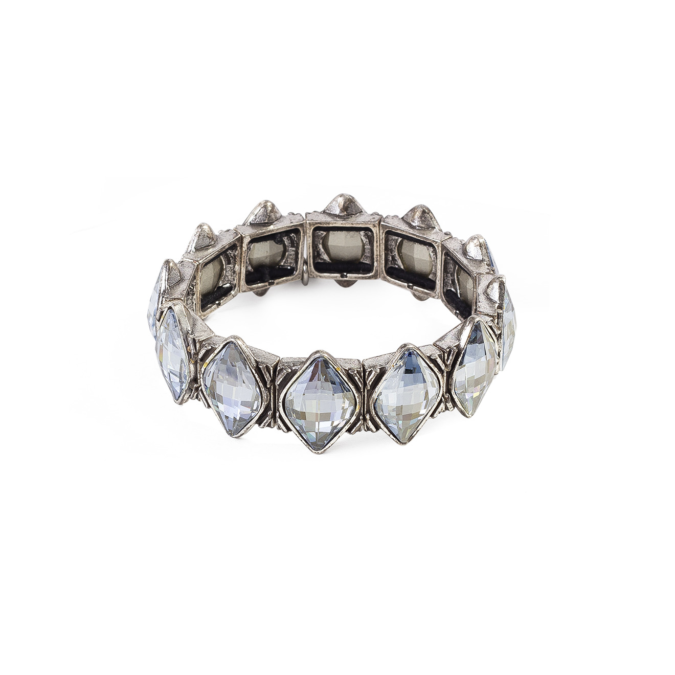 Philippe Audibert Покрытый серебром браслет Lemon Silver Color