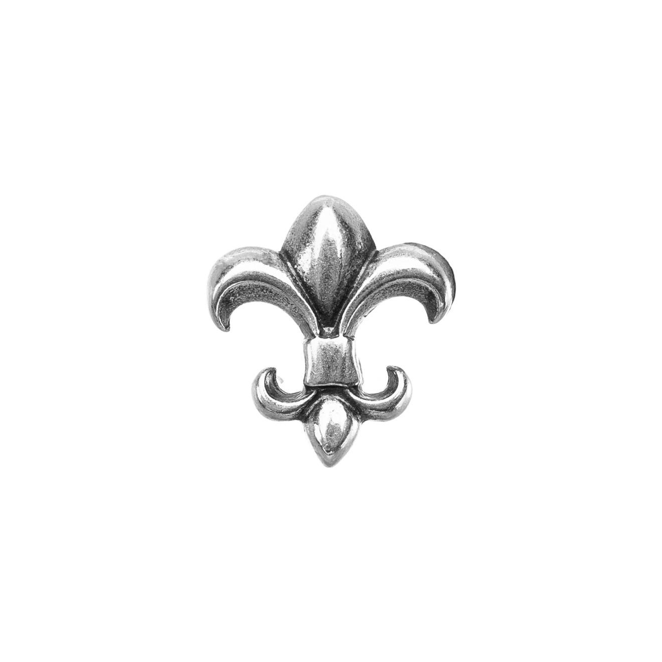 Loro Fede Медальон из серебра Лилия для браслета