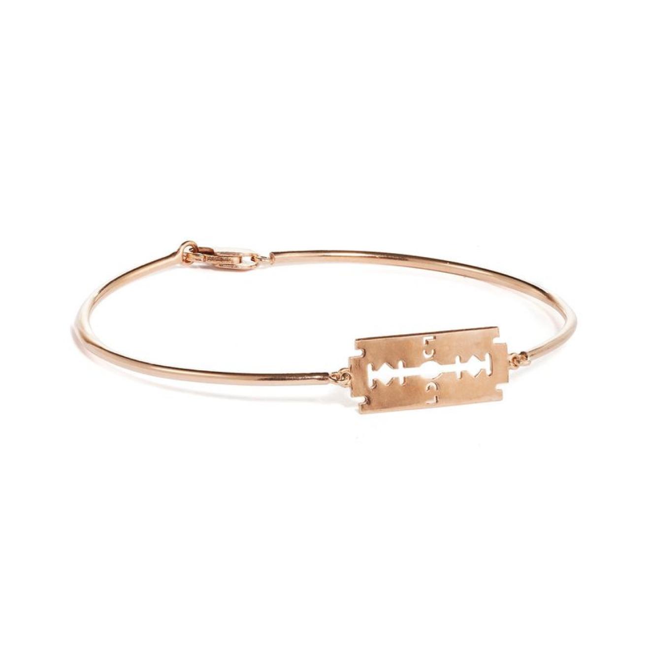 Caviar Jewellery Позолоченный браслет с лезвием ICONIC RAZOR