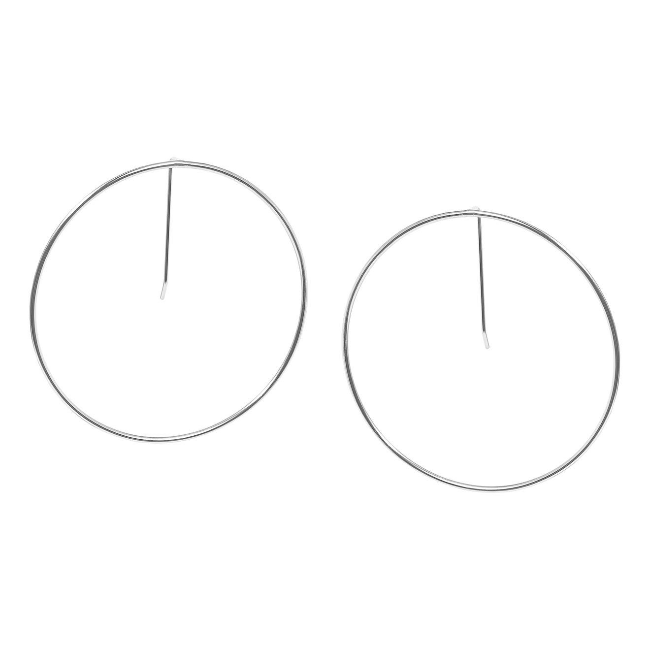 Khoshtrik Серьги-круги из серебра
