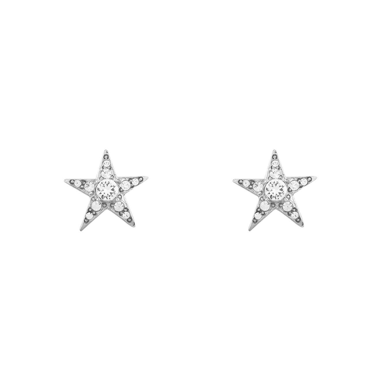 Oscar de la Renta Серьги звезды с кристаллами