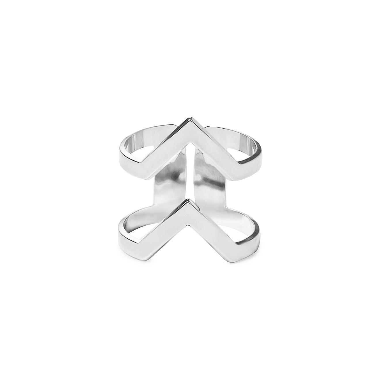 Mya Bay Покрытое серебром кольцо VV