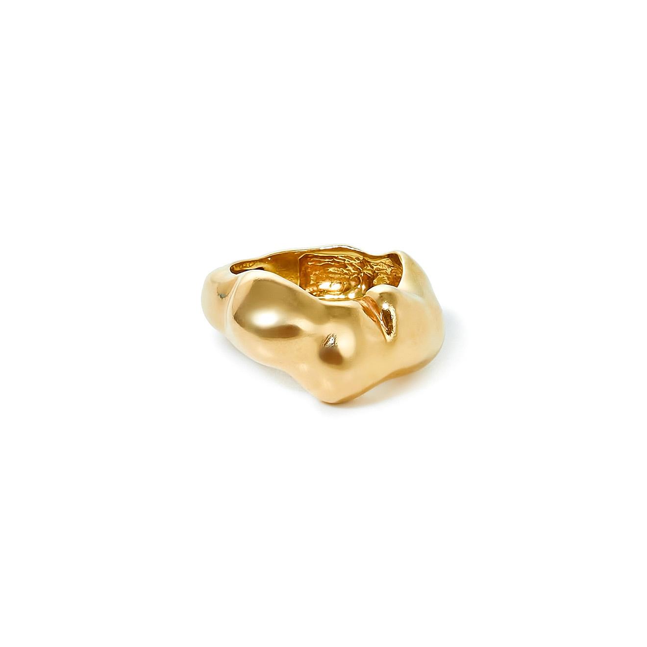 Mineral Weather Позолоченное форменное кольцо mineral weather позолоченные пусеты круги