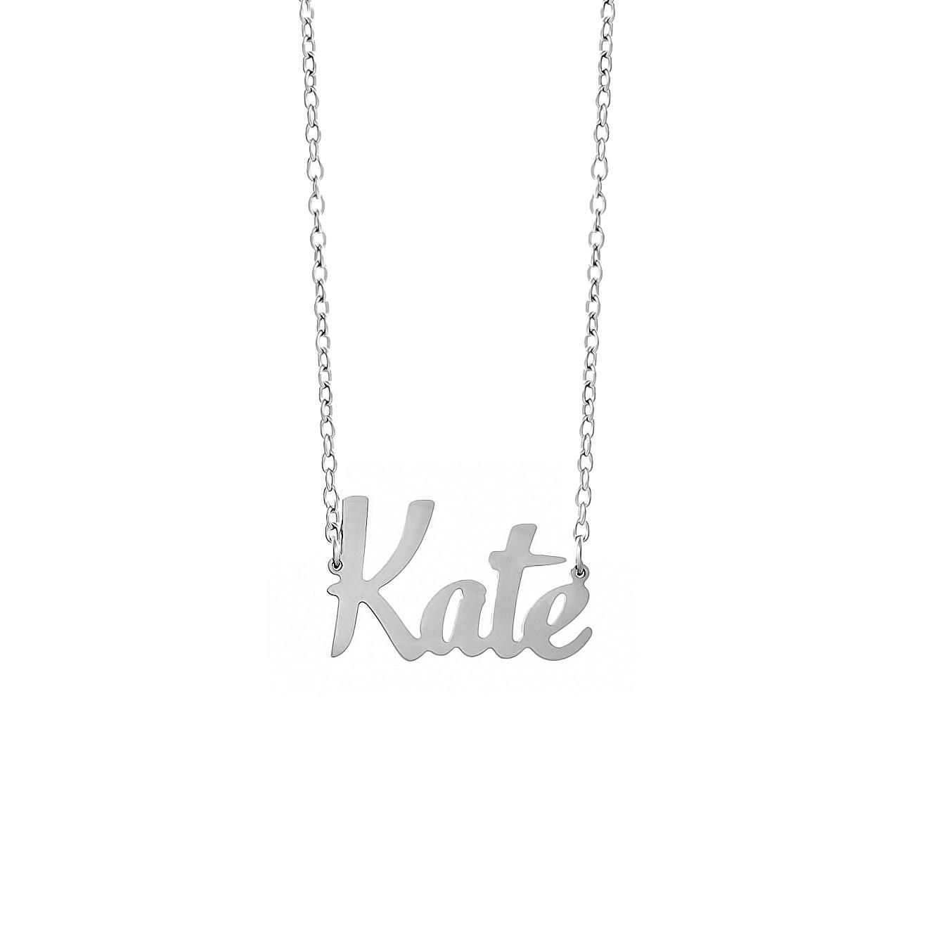 Letter Bar Каллиграфическая подвеска Kate