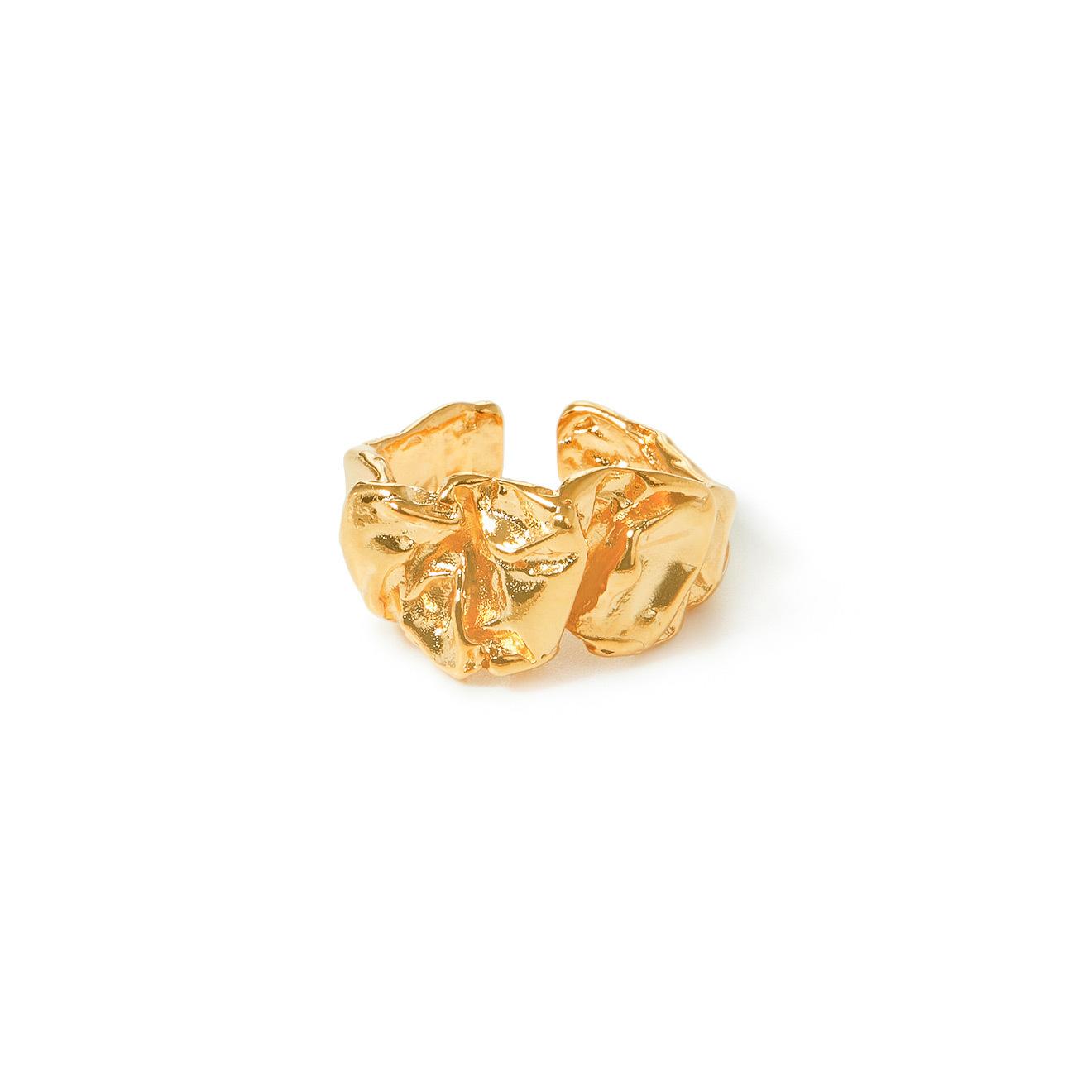 Lisa Smith Золотистое фактурное кольцо